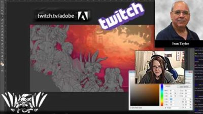 Twitch Streaming Service: Media Arts Learning Opps!