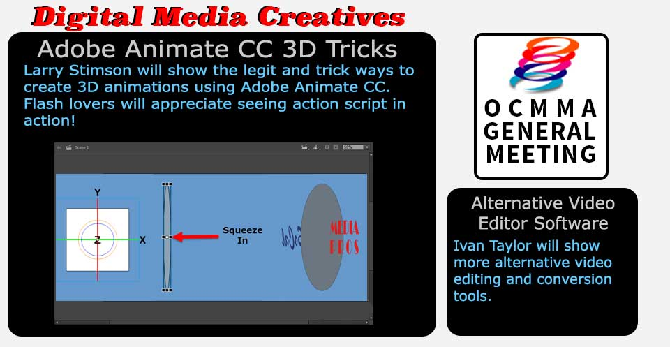 Digital Media Creatives: 3D Tricks