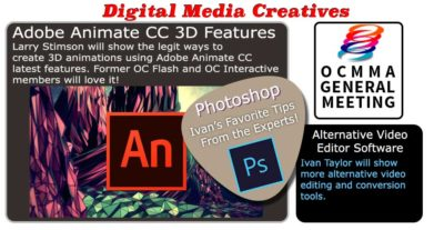Digital Media Creatives: Adobe Animate CC 3D Features